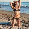 Sunset Photos of Swimsuit Bikini Model Goddess! Nikon D800 pics in the Magic Hour in Malibu!