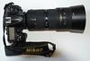 Second, a Nikon Zoom 80-200mm 2.8