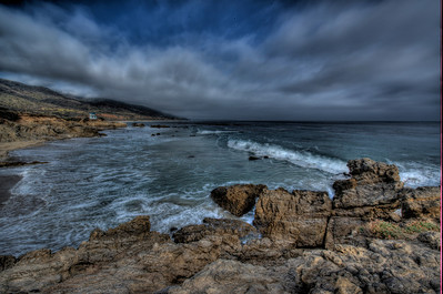 Nikon D800 HDR Wide-Angle (Nikkor 14-24 mm 2.8 lens) Malibu Landscapes 7 exposures @ 1EV Photomatix