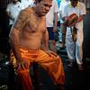 temple devotee as medium in trance