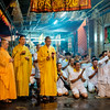taoist monks leading the members in prayer