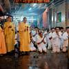taoist monks leading the members in prayer