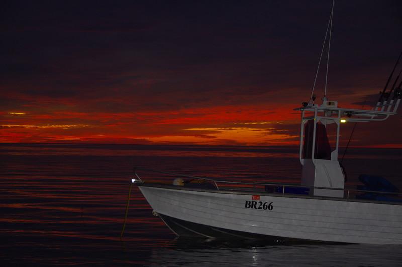 Ningaloo sunset w/flash