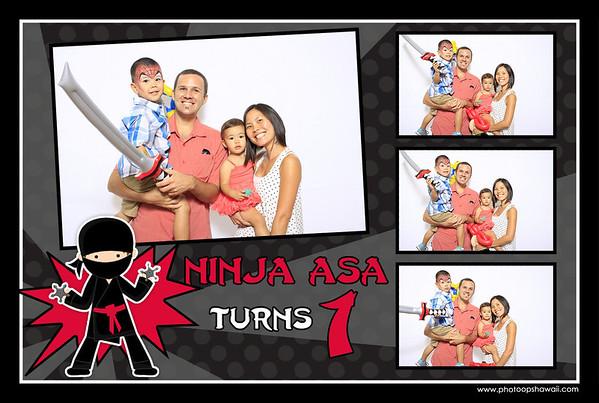 Ninja Asa's 1st Birthday (Fusion Portraits)