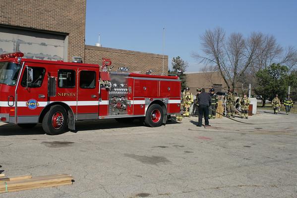 Fall 2010 Firefighter 2 Class Car Fires