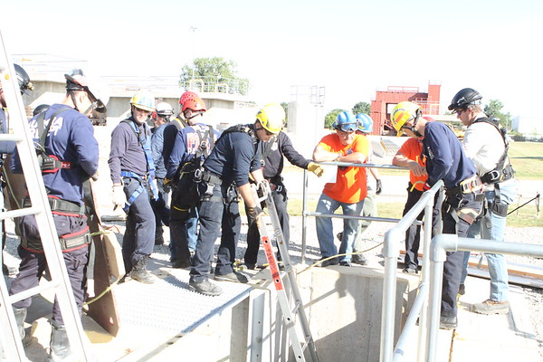 Nipsta Trench Operations Class