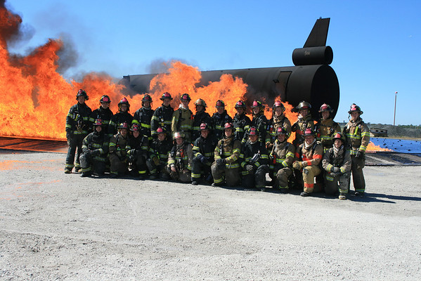Nipsta Summer 2011 Firefighter 2 Class live Fire O'hare Airport