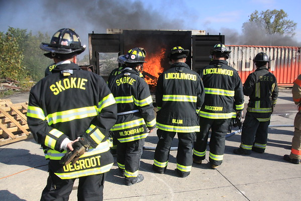 Nipsta Mabas Division 3 Live Fire Training ( Smoke Flow Path )