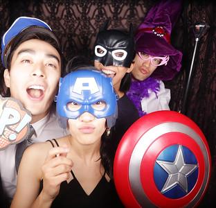 Nish and Cinmy Photobooth Photos
