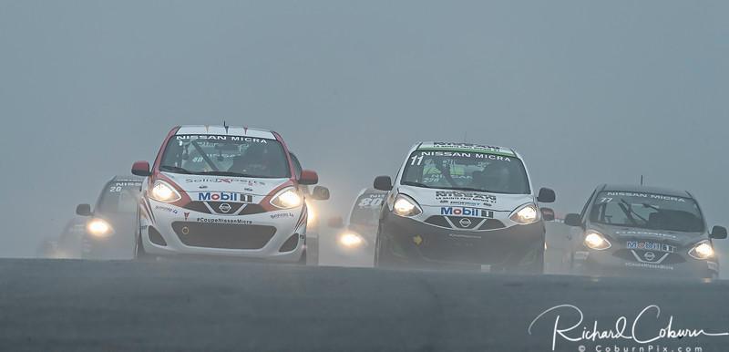 Nissan Micra Cup start