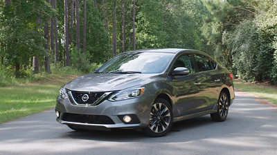 2017 Nissan Sentra SR Turbo Parked Footage