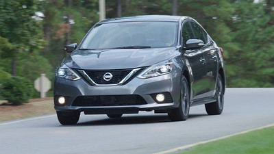 2017 Nissan Sentra SR Turbo Driving Footage