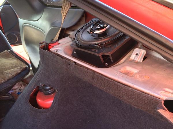 1989 240sx SE Hatchback Rear Hatch Speaker Installation