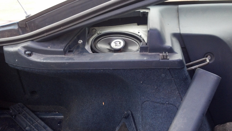Worn out speaker to be replaced