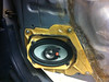 "Factory speaker pod and aftermarket 4x6"" speaker to be replaced."