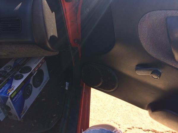 Door Before speaker Installation