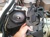 "Comparison: <br> Left: Aftermarket speaker and speaker adapter    from  <a href=""http://www.car-speaker-adapters.com/items.php?id=SAK044""> Car-Speaker-Adapters.com</a>  on top of factory Bose speaker enclosure <br> Right: Factory enclosure lid"