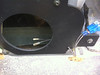 new wiring routed to speaker location