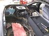 Rear hatch gutted