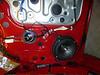 "Aftermarket speaker and speaker adapter from  <a href=""http://www.car-speaker-adapters.com"">http://www.car-speaker-adapters.com</a> installed (view 2)."
