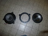 """Factory speaker compared to speaker adapters from  <a href=""""http://www.car-speaker-adapters.com"""">http://www.car-speaker-adapters.com</a> and aftermarket speaker."""