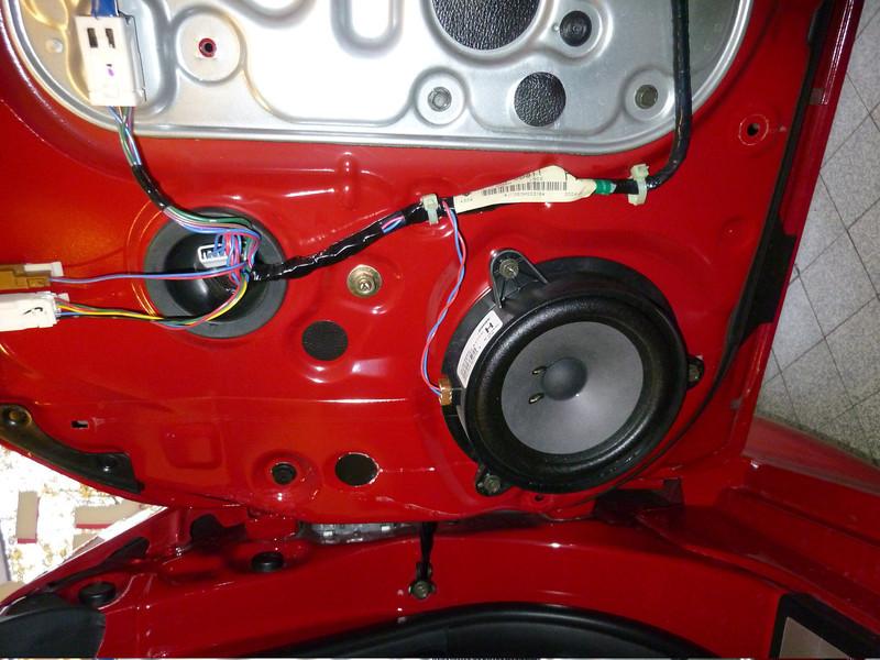 Factory OEM speaker (view 1)