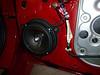 "Aftermarket speaker and speaker adapter from  <a href=""http://www.car-speaker-adapters.com"">http://www.car-speaker-adapters.com</a> installed (view 1)."