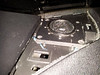 "Tweeter and tweeter pod from  <a href=""http://www.car-speaker-adapters.com/items.php?id=SAK047""> Car-Speaker-Adapters.com</a>   installed in dash"