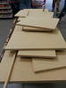 MDF panels cut for speaker box