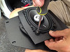 "Mounting aftermarket speakers to  speaker adapters with custom cutout for 4x6"" speakers    from  <a href=""http://www.car-speaker-adapters.com/items.php?id=SAK038""> Car-Speaker-Adapters.com</a>"