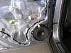 Rear Door Panel Removed.  Factory speaker shown.