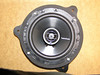 "Aftermarket speaker mounted to speaker adapter bracket  from  <a href=""http://www.car-speaker-adapters.com/items.php?id=SAK050""> Car-Speaker-Adapters.com</a>"