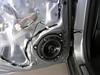 "Aftermarket speaker and speaker adapter bracket   from  <a href=""http://www.car-speaker-adapters.com/items.php?id=SAK050""> Car-Speaker-Adapters.com</a>   installed on door"