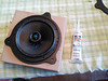 """Aftermarket speaker test fitted to speaker adapter plate    from  <a href=""""http://www.car-speaker-adapters.com/items.php?id=SAK050""""> Car-Speaker-Adapters.com</a>"""