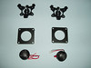 """Top: Pods included with aftermarket tweeters <br> Middle: Tweeter adapters from  <a href=""""http://www.car-speaker-adapters.com/items.php?id=SAK047""""> Car-Speaker-Adapters.com</a> <br> Bottom: Aftermarket tweeters"""