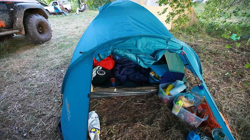Экскурсия по лагерю