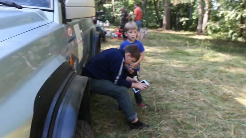 Дети и айпад :)