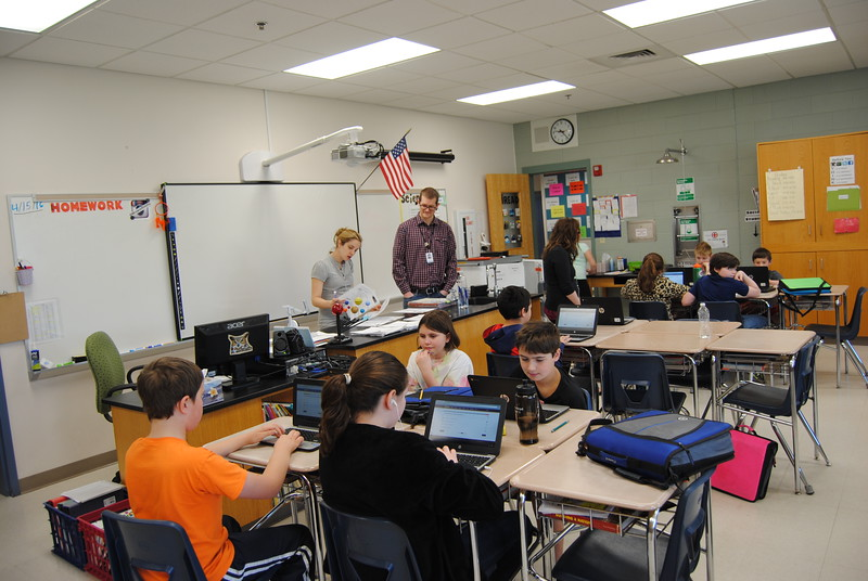 Using computers in the classroom