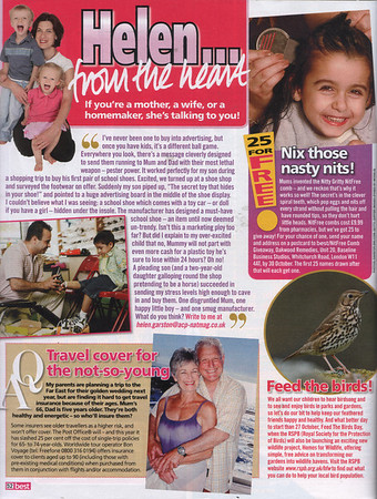 """BEST MAGAZINE 23RD OCTOBER 2007<br /> NITTY GRITTY NITFREE COMB GIVEAWAY<br /> FULL PAGE<br /> <br /> <a href=""""http://www.bestmagazine.co.uk"""">http://www.bestmagazine.co.uk</a>"""
