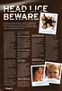 FLYING START MAGAZINE * DECEMBER 2007<br /> NITTY GRITTY NITFREE COMB<br /> HEAD LICE BEWARE ARTICLE PAGE 1