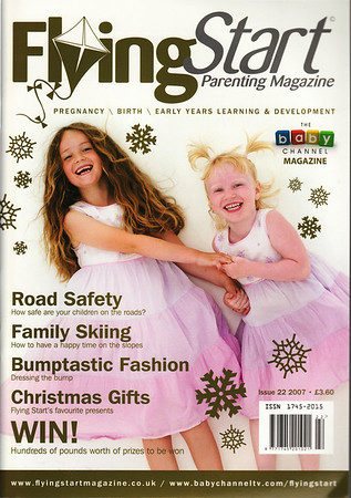 FLYING START MAGAZINE * DECEMBER 2007<br /> FRONT COVER<br /> NITTY GRITTY NITFREE COMB<br /> HEAD LICE BEWARE ARTICLE