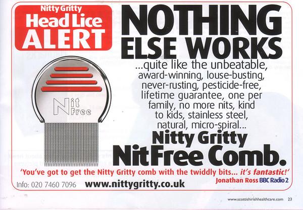 IRISH NURSE ACCOMPANYING AD<br /> MARCH 2007