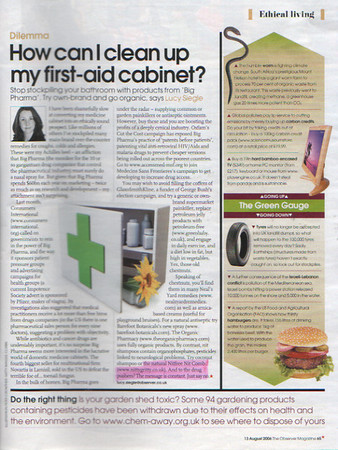 Nitty Gritty NitFree comb featured in<br /> How Can I Clean Up My Medicine Cabinet? <br /> (whole page)