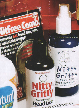 Nitty Gritty Range featured in <br /> Medicine Cabinet      <br /> (close up Images)