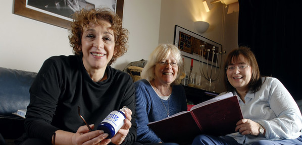 Nitty Gritty business<br /> Founders, Gill Newton.Lillan Ostererg and Amanda Coplans<br /> <br /> ©David Rose 07971 401 137