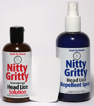 Nitty Gritty Aromatherapy Solution 150 ml<br /> Nitty Gritty Repellent Spray 250 ml