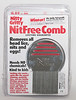 Nitty Gritty NitFree Comb<br /> Pack of 6 in plastic Vac tray