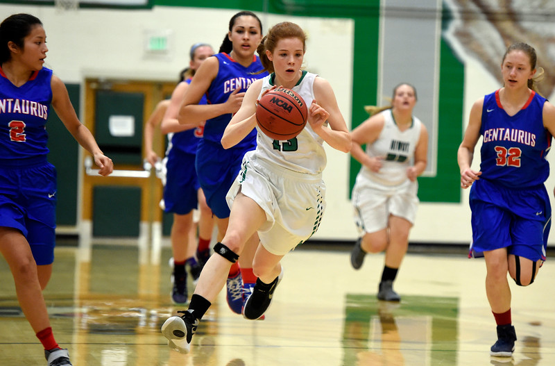 Niwot vs Centaurus Girls Hoops