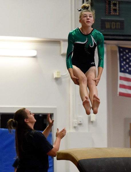 Niwot vs Ft. Collins Gymnastics