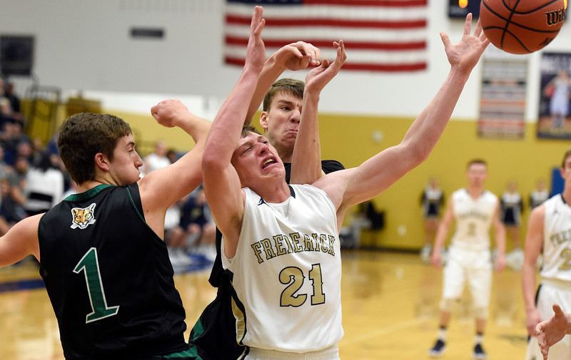 Frederick vs Niwot Boys Hoops